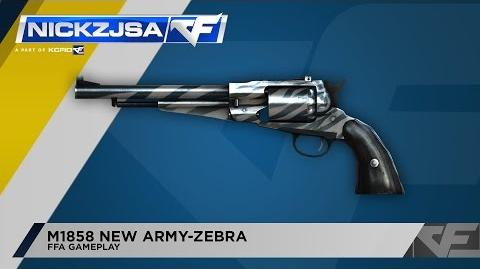 CrossFire Indonesia M1858 New Army-Zebra