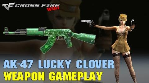 CrossFire - AK-47 Lucky Clover - Weapon Gameplay