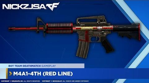 M4A1-4th (Red Line) CROSSFIRE Japan 2