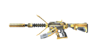 M4A1 S UNDER TECH GOLD RD1 CHARGED