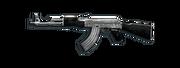 AssaultRifle AK47-Silver