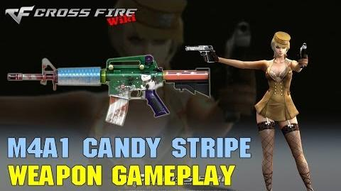 CrossFire - M4A1 Candy Stripe - Weapon Gameplay