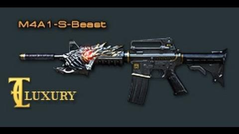 Cross Fire China M4A1-S-Beast (Black Dragon(黑龙)) Luxury VVIP Review !