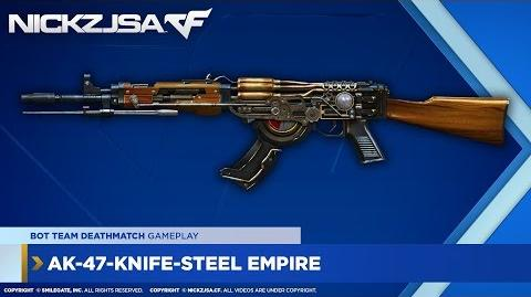 AK-47-Knife-Steel Empire CROSSFIRE China 2.0