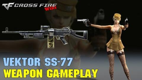 CrossFire - Vektor SS-77 - Weapon Gameplay