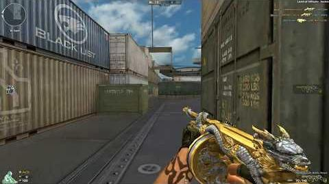 Cross Fire NA UK Thompson-Infernal Dragon Noble Gold (Thompson-Noble Beast) !