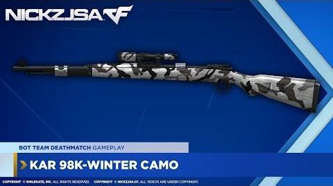 Kar 98K-Winter Camo CROSSFIRE China 2