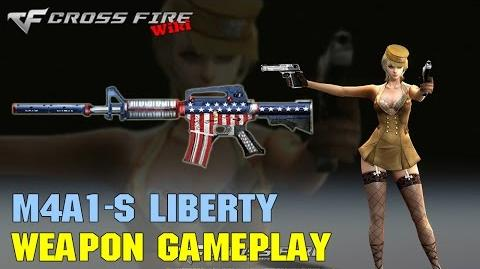 CrossFire - M4A1-S Liberty - Weapon Gameplay