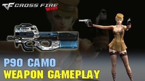 CrossFire - P90 Camo - Weapon Gameplay