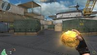 Golden Soccer Ball HUD