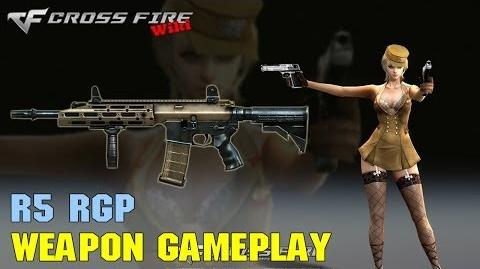 CrossFire - R5 RGP - Weapon Gameplay