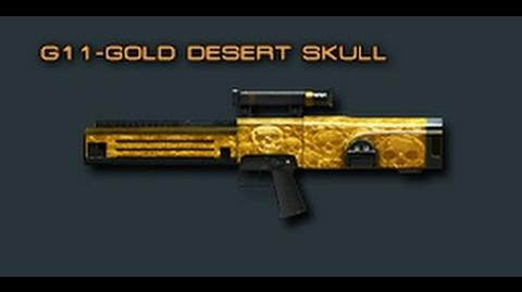 Cross Fire China -- G11-Gold Desert Skull (Assault Rifle) -Review-!