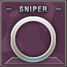 Sniper Badge Class C Level 2