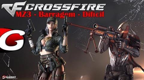CrossFire – Modo Zumbi 3 – BARRAGEM – Gameplay 19 – SG