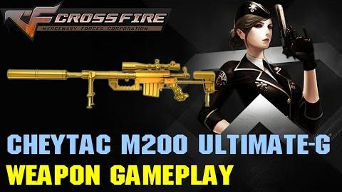CrossFire VN - CheyTac M200 Ultimate Gold