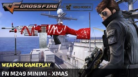 CrossFire Vietnam - FN M249 MINIMI - Xmas