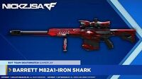 Barrett M82A1-Iron Shark CROSSFIRE China 2