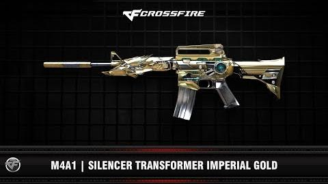 CF M4A1 Silencer Transformer Imperial Gold