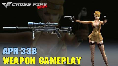 CrossFire - APR-338 - Weapon Gameplay