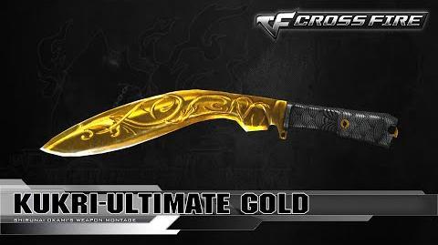 CrossFire Vietnam - Kukri-Ultimate Gold ☆