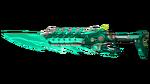 M4A1-SILENCER RIFLE KNIFE GREEN 2