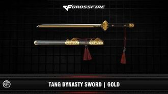 CF Tang Dynasty Sword Gold