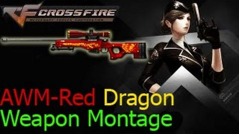 AWM-Red Dragon in Ghost Mode Crossfire VietNam