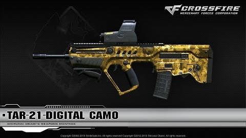 CrossFire China Tar-21-Digital Camo