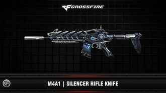 CF M4A1 Silencer Rifle Knife (Beta)