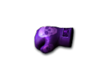 Gloves-Purple Skull