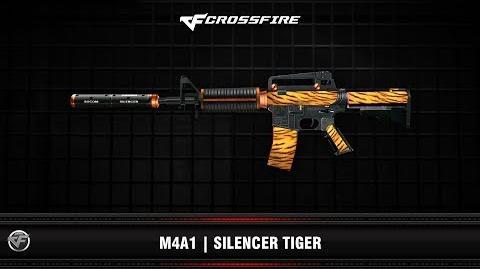 CF M4A1 Silencer Tiger