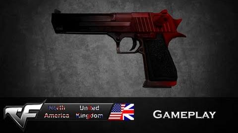 CrossFire NA Desert-Eagle Crimson (Gradation) Gameplay