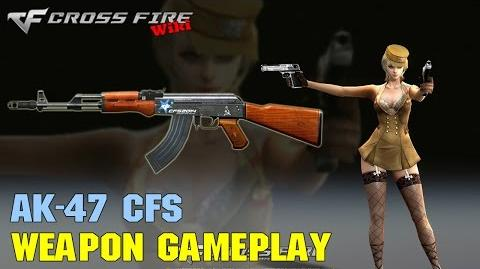 CrossFire - AK-47 CFS - Weapon Gameplay