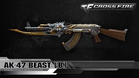 CrossFire Indonesia AK-47-Beast B ☆