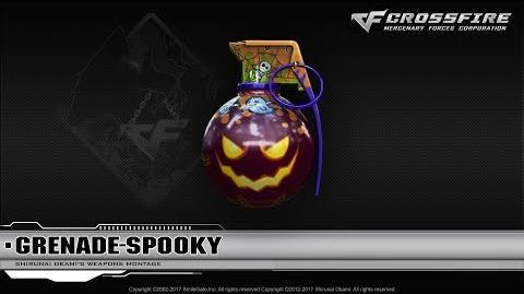 CrossFire Vietnam Grenade-Spooky