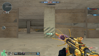 M4A1 S UNDER TECH GOLD PVE CHARGED