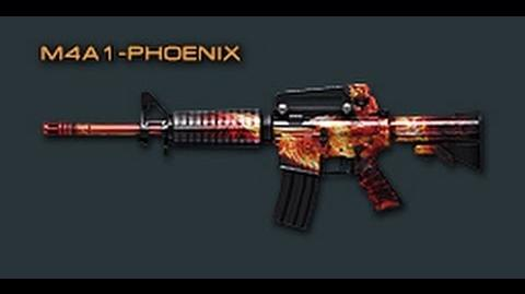 Cross Fire China M4A1-Phoenix Review!