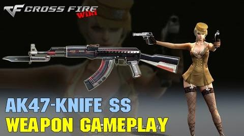 CrossFire - AK-47 Knife SS - Weapon Gameplay