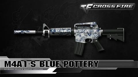 CrossFire China M4A1-S Blue Pottery ☆-0