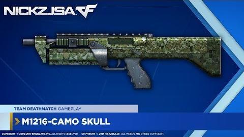 M1216-Camo Skull CROSSFIRE Indonesia 2