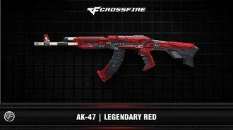 CF AK-47 Legendary Red (VIP)
