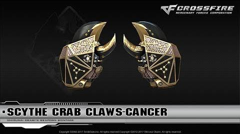 CrossFire China Scythe Crab Claws-Cancer