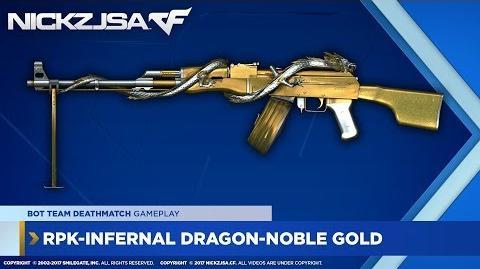 RPK-Infernal Dragon-Noble Gold CROSSFIRE Japan 2