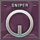 Sniper Badge Class B Level 2