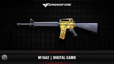 CF - M16A2 - Digital Camo