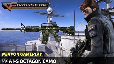 CrossFire - M4A1-S Octagon Camo (in Gladiator Map)