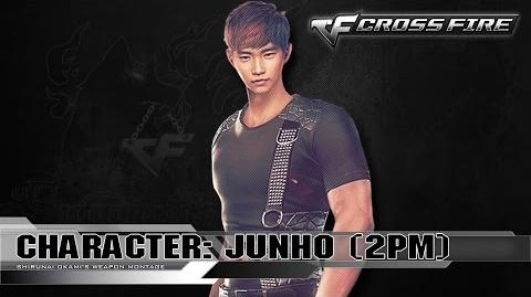 CrossFire Character JUNHO - 2PM ☆