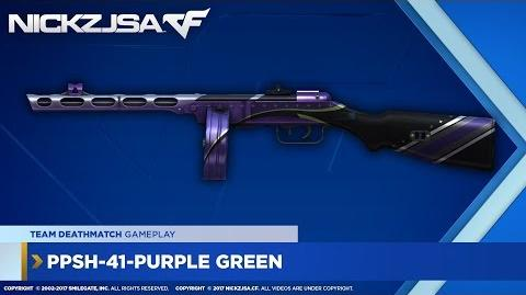 PPSh-41-Purple Green CROSSFIRE Indonesia 2