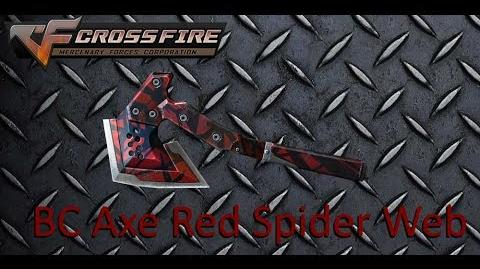 A Key to Ghost Mode- BC Axe Red Spider Web