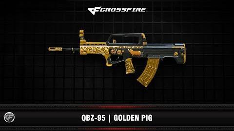 CF QBZ-95 Golden Pig